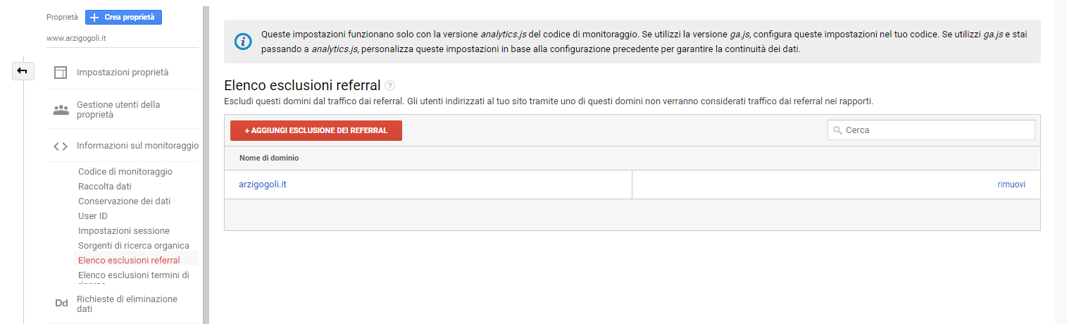 eslcusione referral